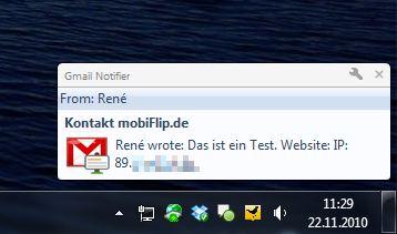 Chrome Erweiterung GMail Google Mail