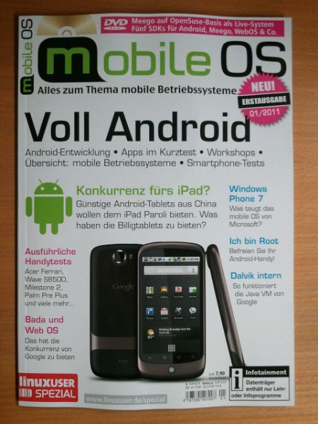 Android Autor Linux Mobile OS Print