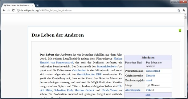 Chrome Erweiterung Extension Google Plugin Wikipedia