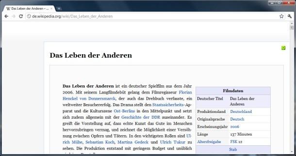 Chrome Erweiterung Extension Google Plugin Wikipedia