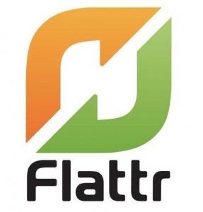 Button Flattr Geld Service Webdienst