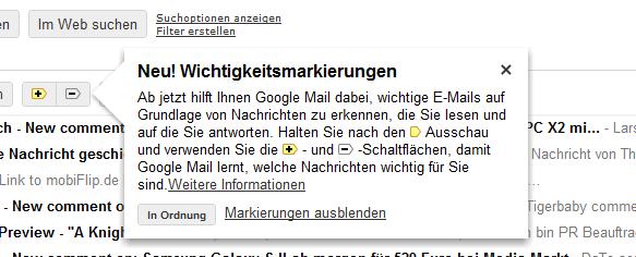 Google Mail Postfach Web