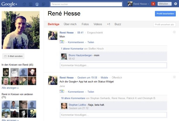 CSS Facebook Google Google Plus Social Style