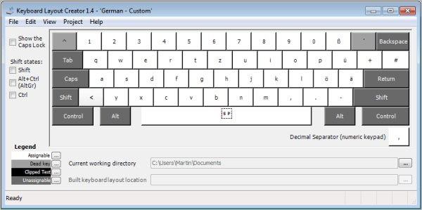 Key Microsoft System Tastatur Tool Windows