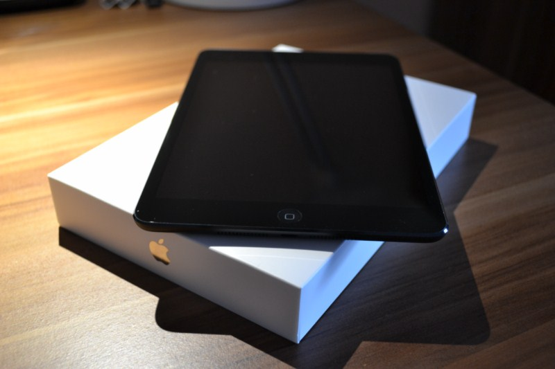 Apple Frau iPad mini
