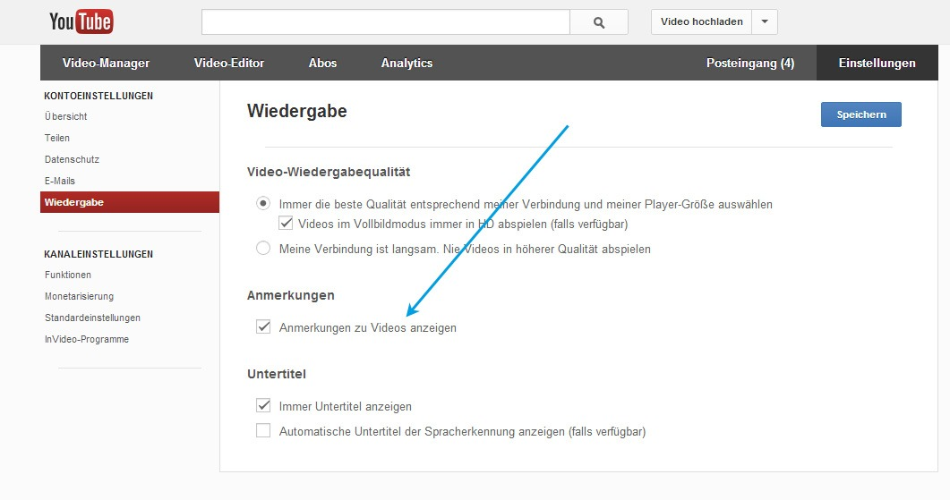 Google Video Wiedergabe YouTube