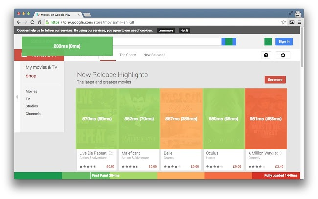 Chrome Dev Tool Web webdev