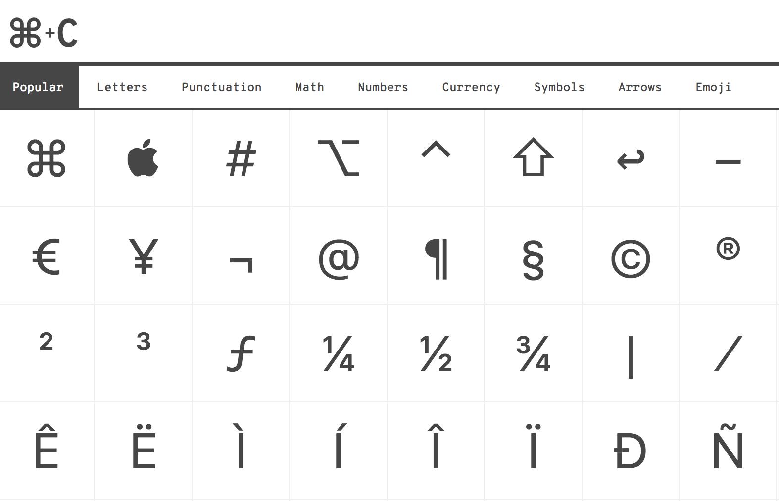emoji kopieren Link Symbol