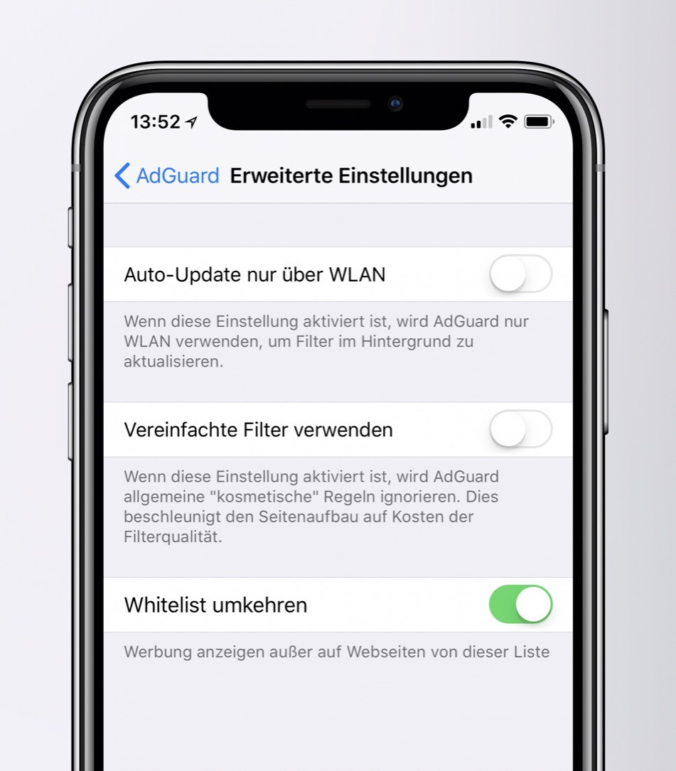 adblocker adguard Apple iOS