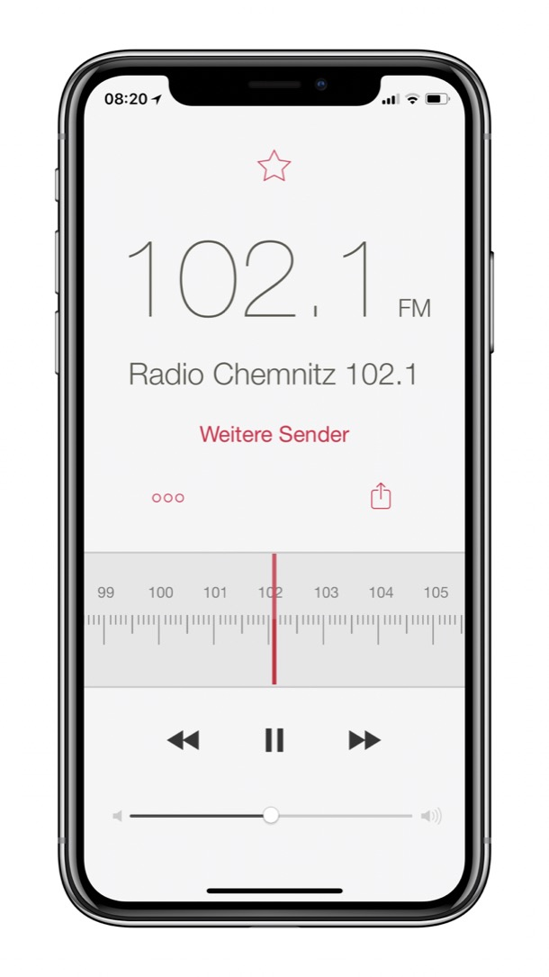 Apple iOS Radio