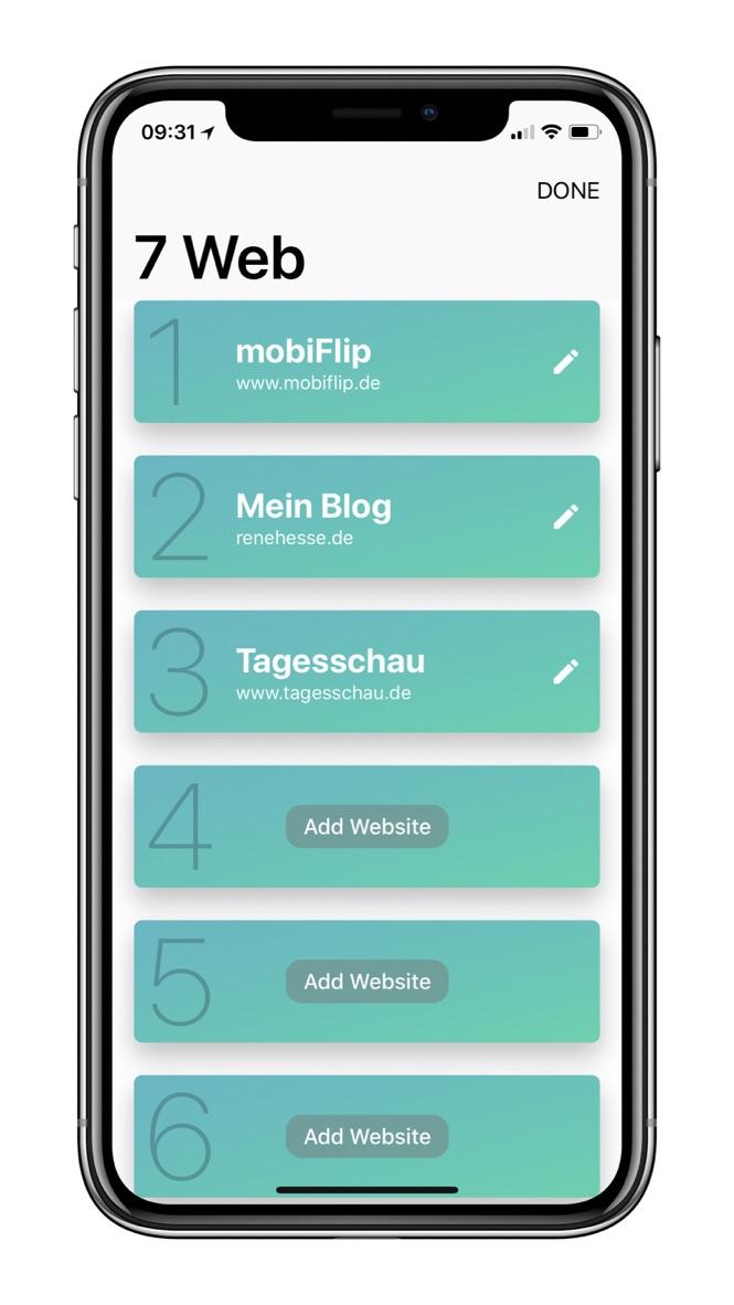 App Apple Browser iOS iPhone