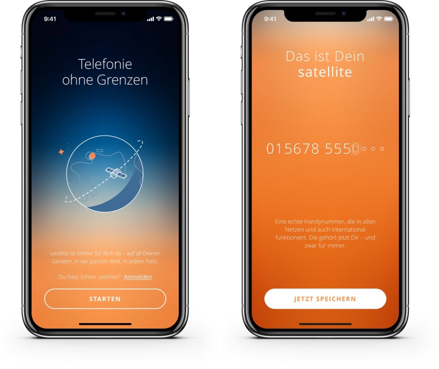 Apple iOS satellite telefonie