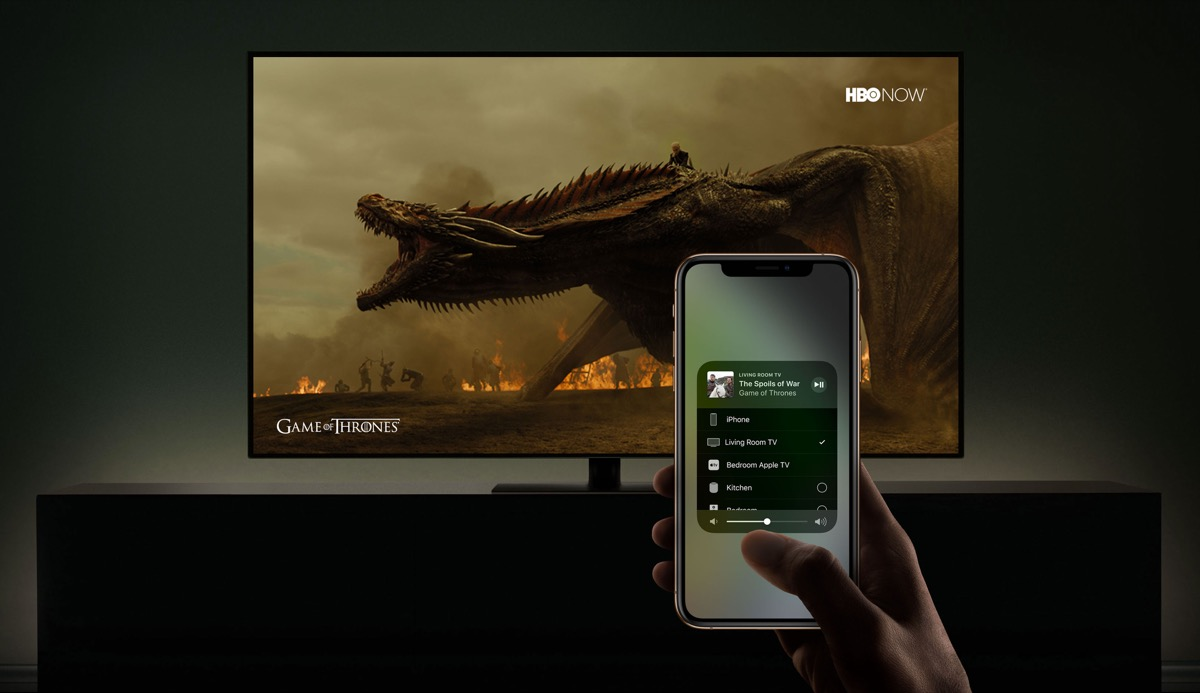 airplay airplay 2 apple tv lg TV