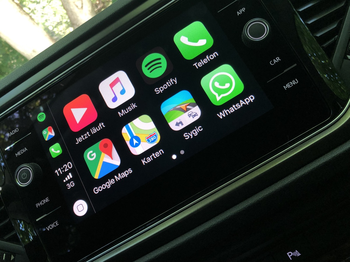 aff Apple carplay spotify